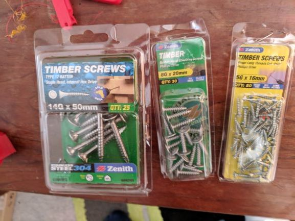 screws